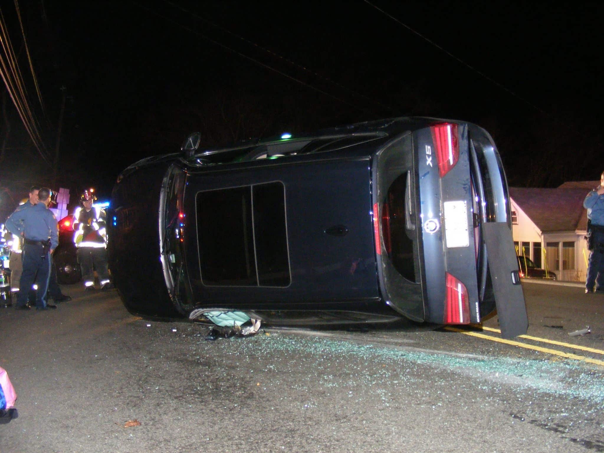 rollover crash hawthorne