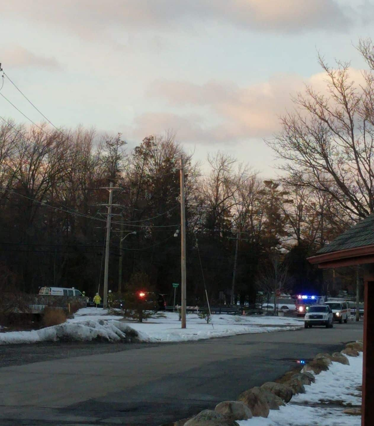 Major Gas Leak in Allendale