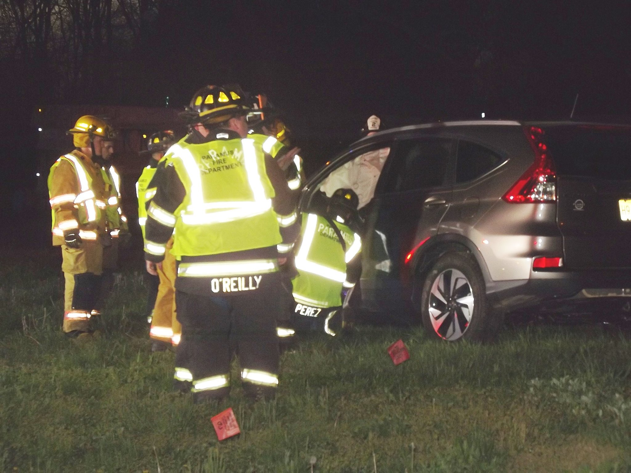Garden State Parkway Crash Leaves Car On Shoulder Of Route 4 Westbound
