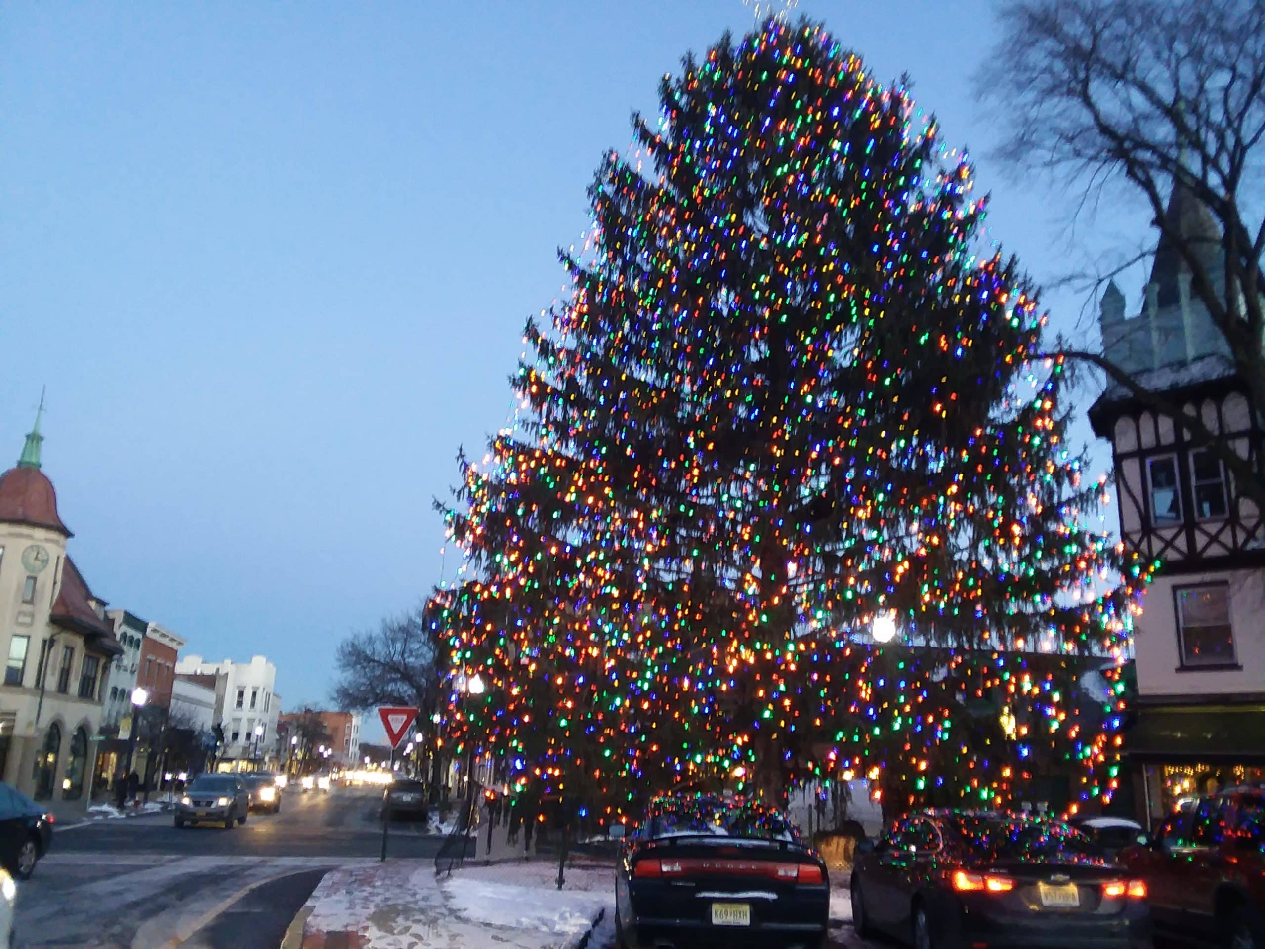Christmas Tree Village of Ridgewood